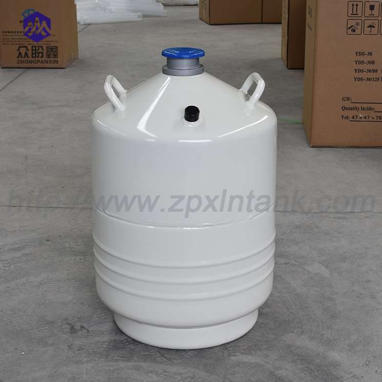 Selection of liquid nitrogen tank surface paint