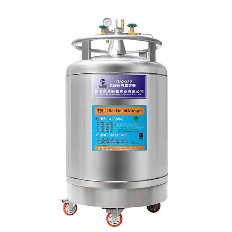 240L self-pressurized liquid nitrogen container ,dewar vacuum flask, Gas Cylinder