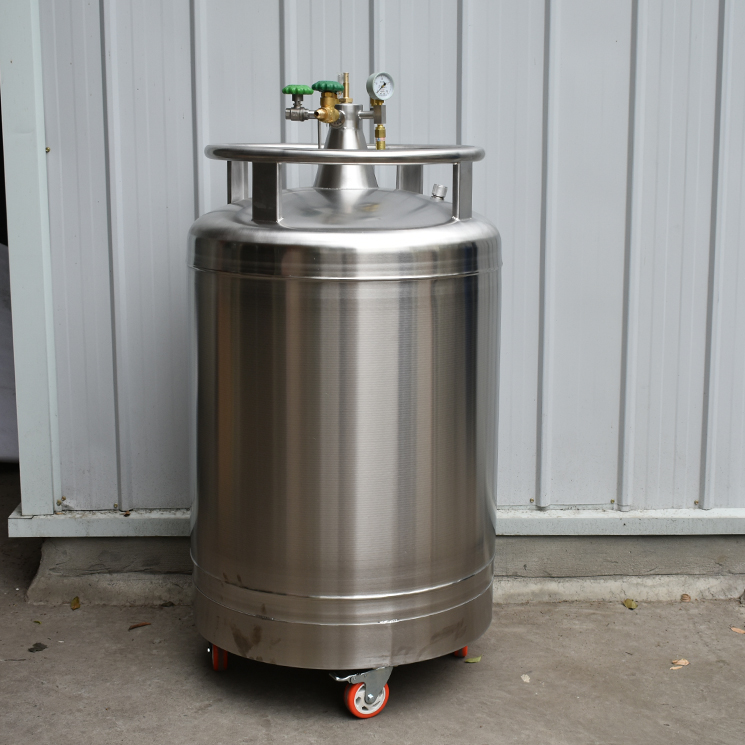 self-pressurized liquid nitrogen tank,cryogenic liquid nitrogen storage container , Stainless Steel Tank