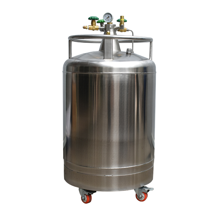 Self-pressurized liquid nitrogen tank,Gas Cylinder for Oxygen Nitrogen Argon,Low pressure container